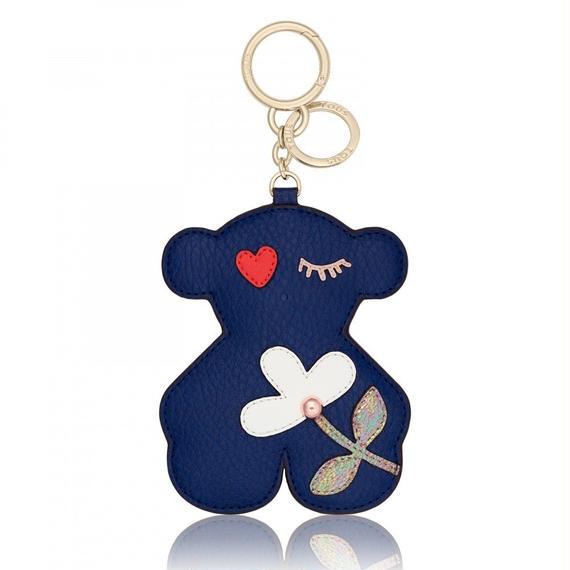 ブルーのキーホルダー XL Patch Art(895960219)
