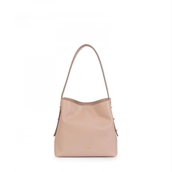 ピンクの革製小型サックSibil(895890039)