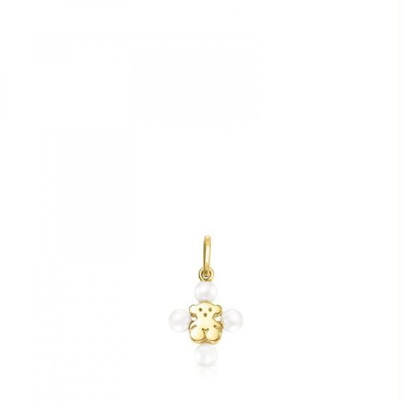 ゴールドとパールのペンダントトップ XXS(812784000)