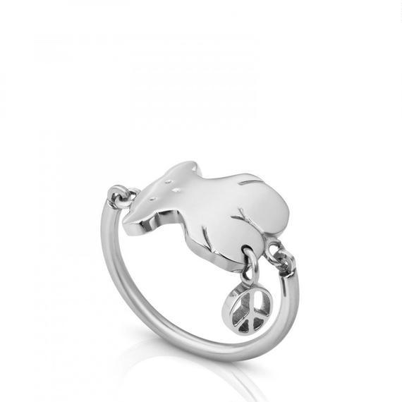 ステンレススチールのリング Motif(314935600)