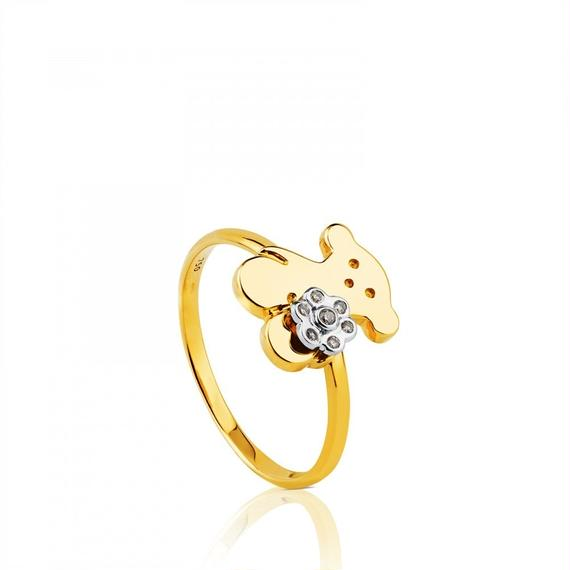 ゴールドのリング Flora(217695000)