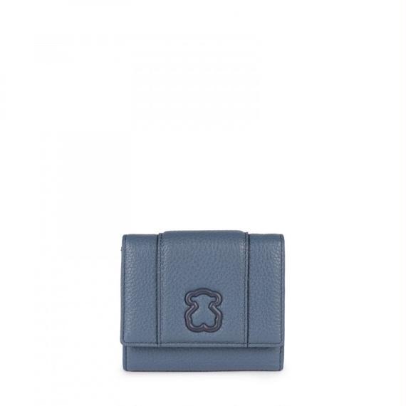 ウォレット 小 Alfa レザー ブルー(895970005)