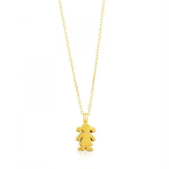 ゴールドのネックレス Sweet Dolls(015904020)