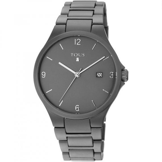 アルマイトアルミニウム グレー 腕時計 Motion(800350660)