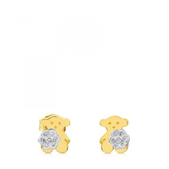 ゴールドのピアス Flora(217693000)