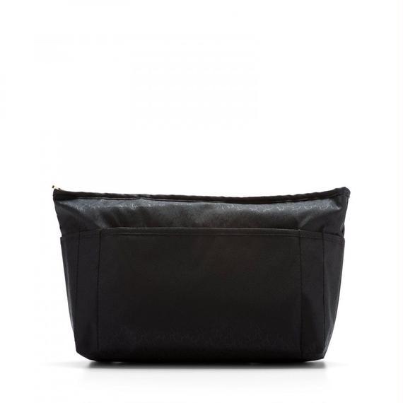 ブラックのナイロン製大型ポーチ Tous Clásica(095910005)