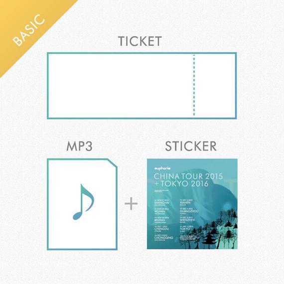 「チケット」 +【特典】「レア音源ダウンロード + ステッカー」