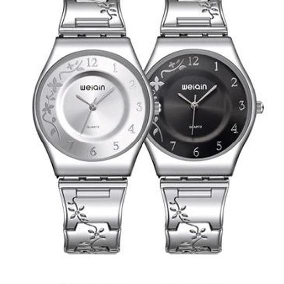 WEIQIN 4色展開 ブランド 7ミリメートル 超スリム クォーツ レディース時計