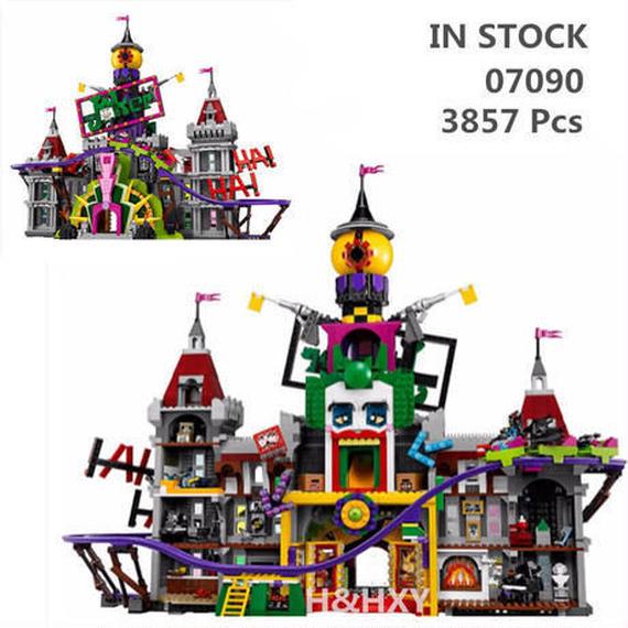LEPIN社 3857ピース スーパーヒーロー ジョーカー 城 レゴブロック互換