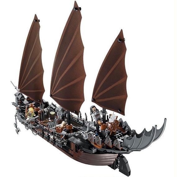 LEPIN社 756ピース ロードオブザリング 海賊船 レゴブロック互換