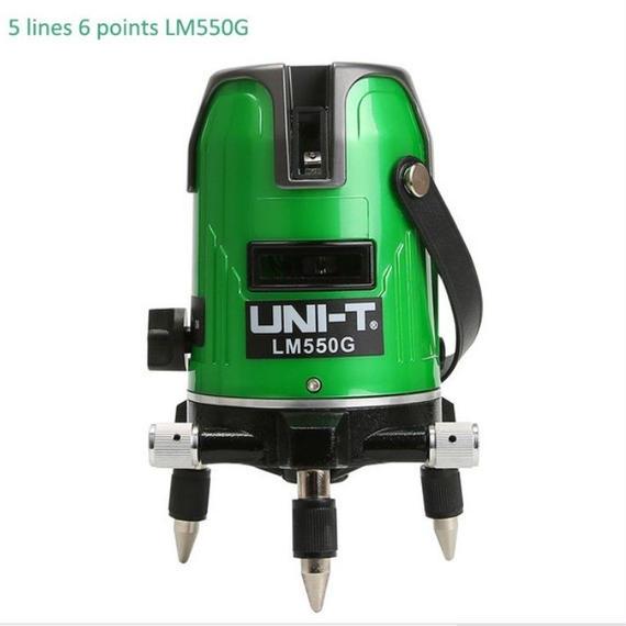 高輝度グリーンレーザー532mn 5ライン 墨出し器 光学測定器 360°回転