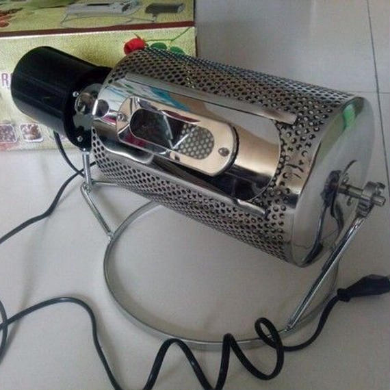 コーヒー豆焙煎機 炒り器 生豆 ナッツ 大豆 ゴマ 栗 直火 飲食店 プロ用 業務用