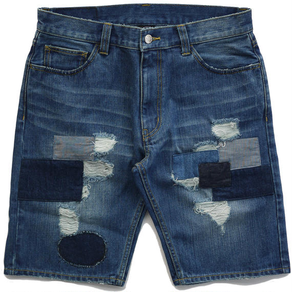 SUNS FARM DENIM SHORT(REPAIR)