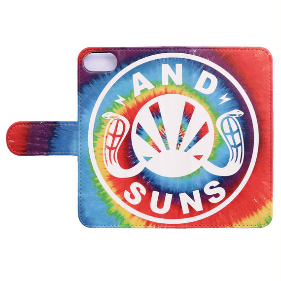 TIE DYE LOGO IPHONE BOOK