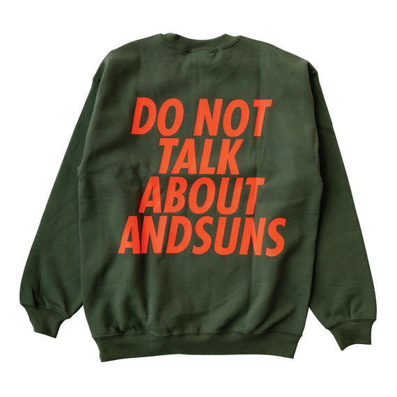 DO NOT TALK ABOUT CREWNECK