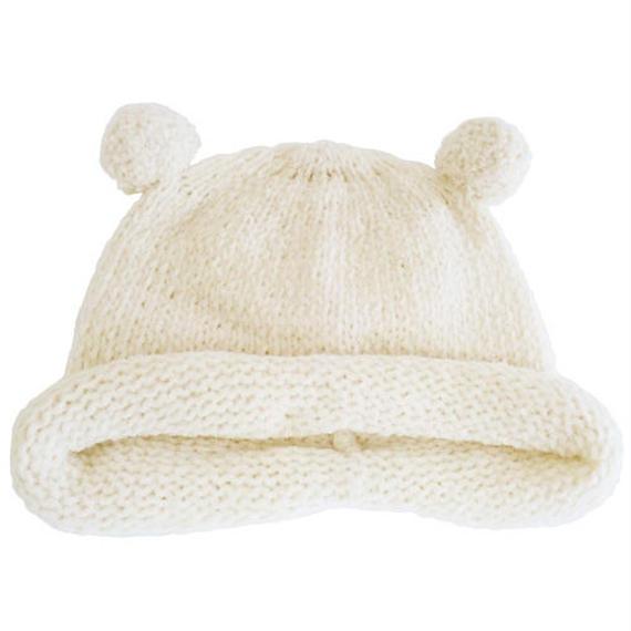 SENSE OF WONDER オーガニックコットン 2017年秋冬 日本製 ベーシック モール糸帽子