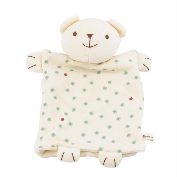 SENSE OF WONDER オーガニックコットン 日本製 くまパペット/Bear Puppet