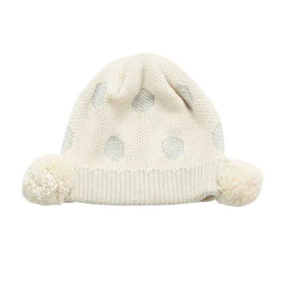 SENSE OF WONDER オーガニックコットン ラメドット帽子