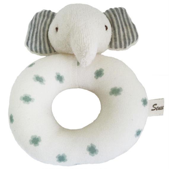 SENSE OF WONDER オーガニックコットン 日本製 BASIC ゾウ リングラトル