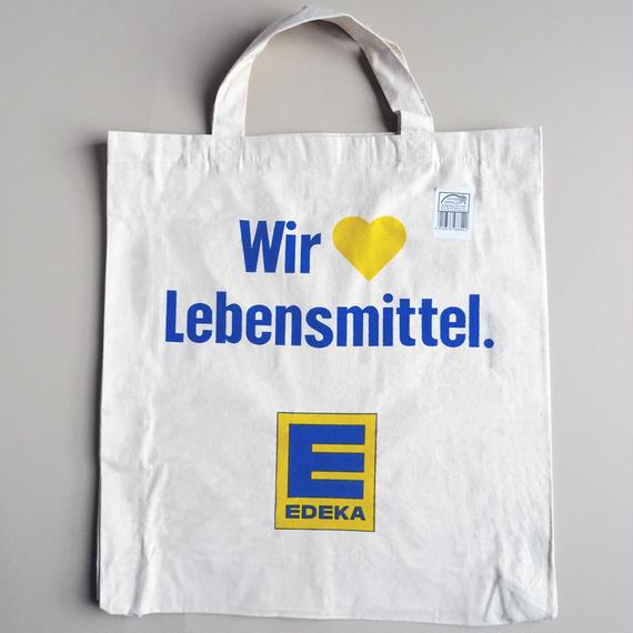 EDEKA Bag  ドイツ スーパーマーケット エデカ エコバッグ ハート柄