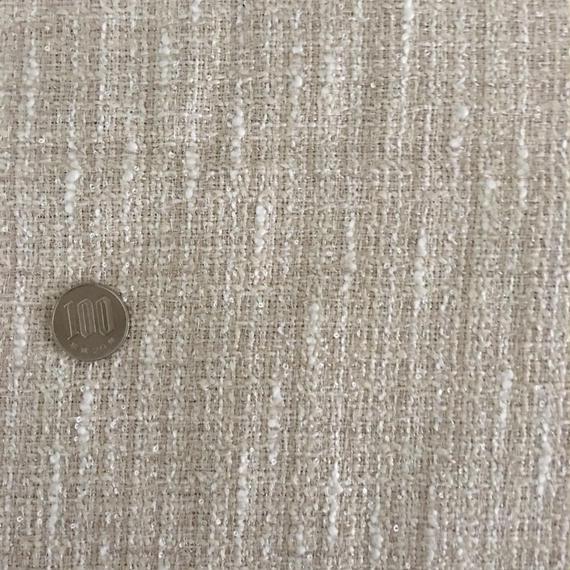 ツイード クリームゴールド 約100×50cm