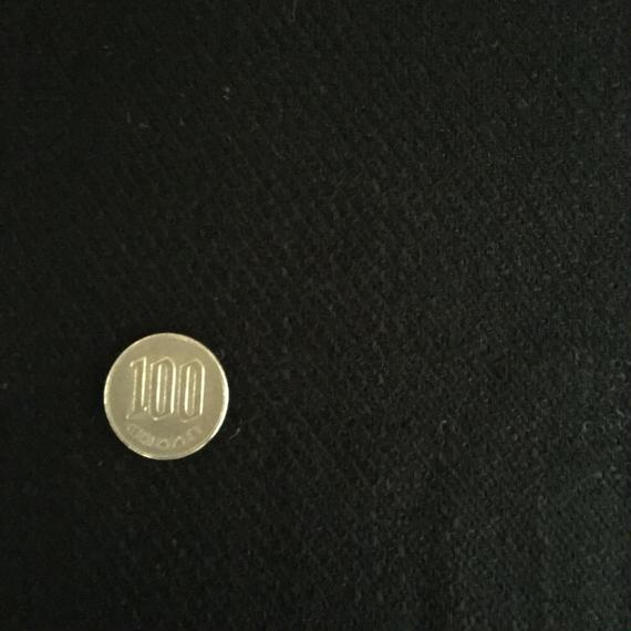 ツイード ブラック 50cm