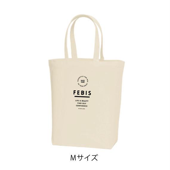 FEBIS 定番ロゴトートバッグ<Mサイズ/ナチュラル>
