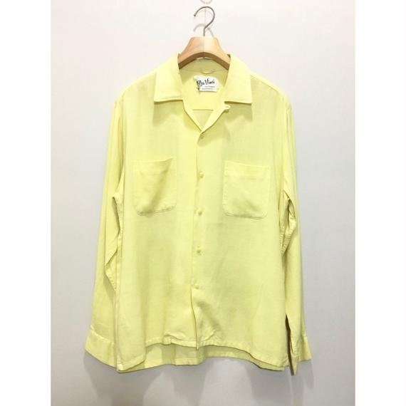 "L/S ""Da Vinci"" Open Collar Shirt"