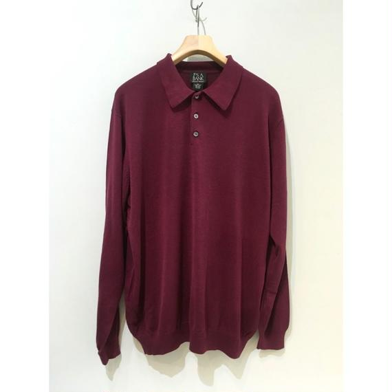 SILK  Knit Polo Shirts