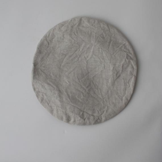 【KIJIMA TAKAYUKI】リネンベレー帽(No.171228) /アイボリー