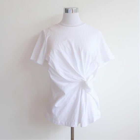 ツイストTシャツ(White・Navy)