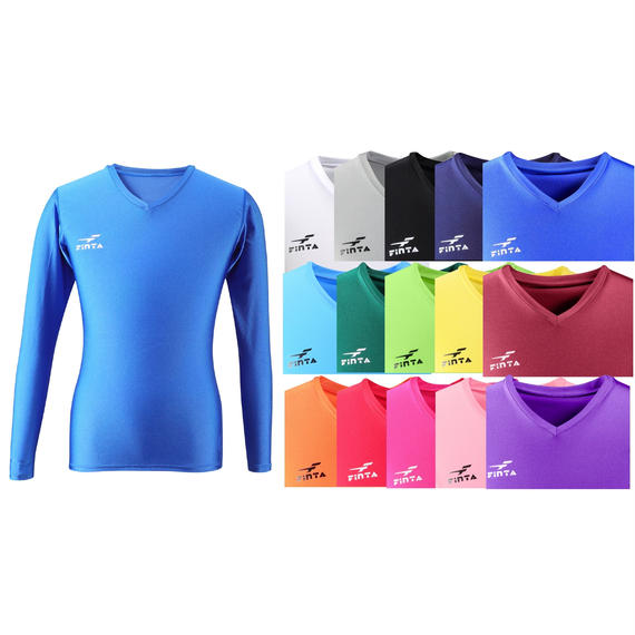 【お届けまで3〜4週間】FT5151 Vネックインナーシャツ15カラー
