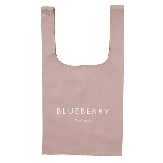 FT01050405S / SHOPPING BAG  S -  blueberry  -