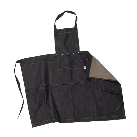 FT02080916 / MULTI APRON -  denim  -