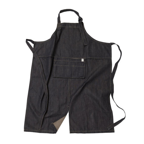 FT02010916 / PACKABLE APRON-  denim  -