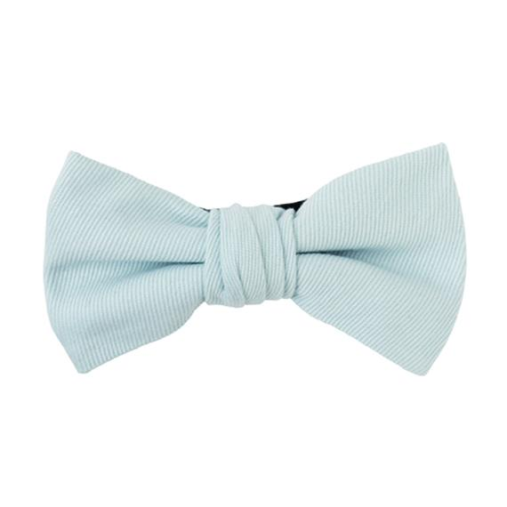FT04060408 / TWILL BOW-blue mallow-
