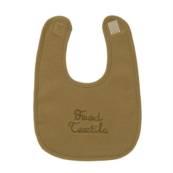 FT030102A / BABY BIB A -  coffee  -