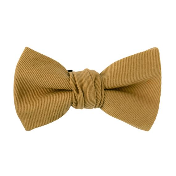 FT04060401 / TWILL BOW- espresso coffee -