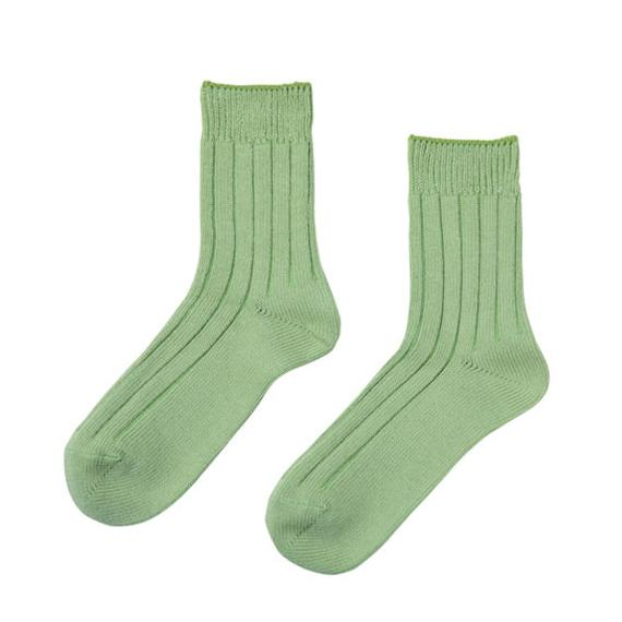 FT04100614_M / SOCKS- green tea -