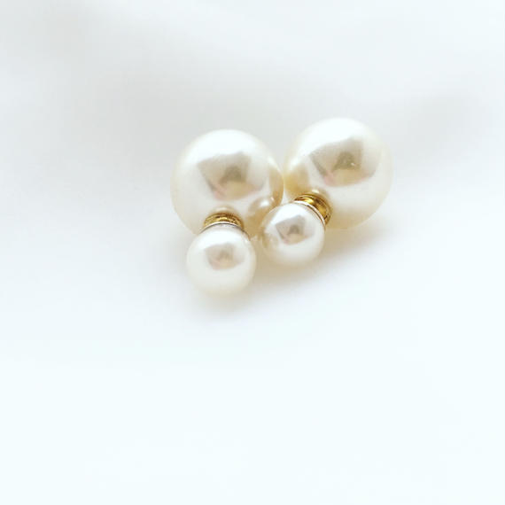double pearl catch pierce