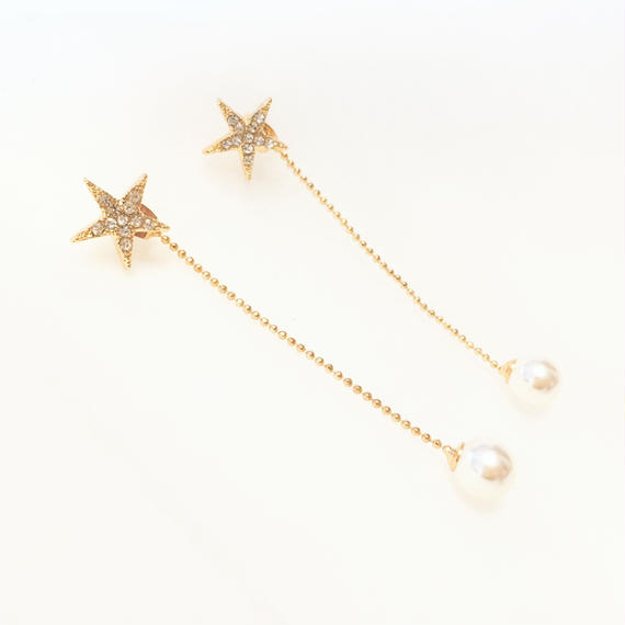 star pearl chain pierce