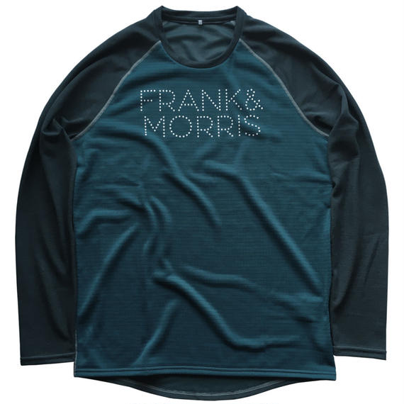 F&M LONG SLEEVE WOOL Tee / NAVY