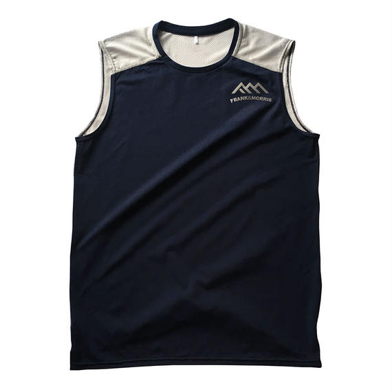 F&M MEN'S MESH SLEEVELESS