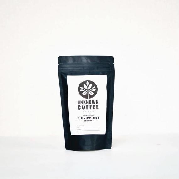 《メール便 送料82円  100gお試しパック》PHILIPPINES BENGUET 無農薬コーヒー【中深煎り】 100g