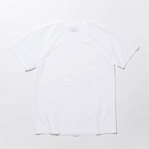 Botanical Dyed T-shirts / WHITE