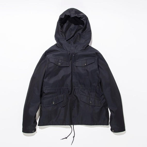 Water Repellent Anorak Parka / NAVY