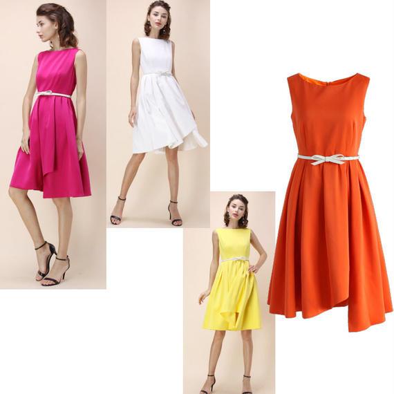 モダン・グラマー プロムドレス*4colors