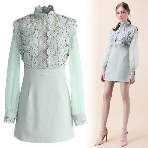 フェンスオブロマンスかぎ針編みドレス