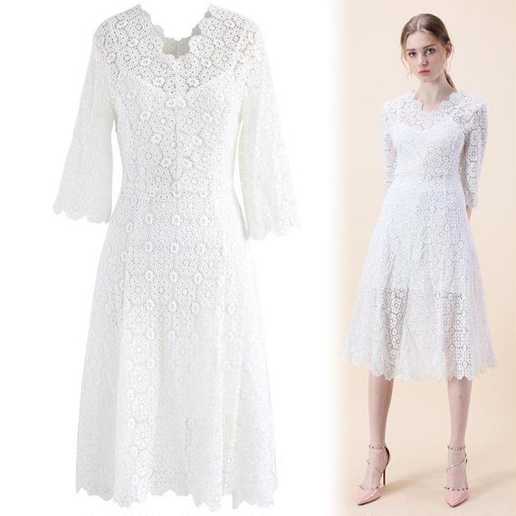ブロッサムリメンバークロシェドレス