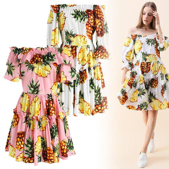 グレースイージーかぎ針編みドレス